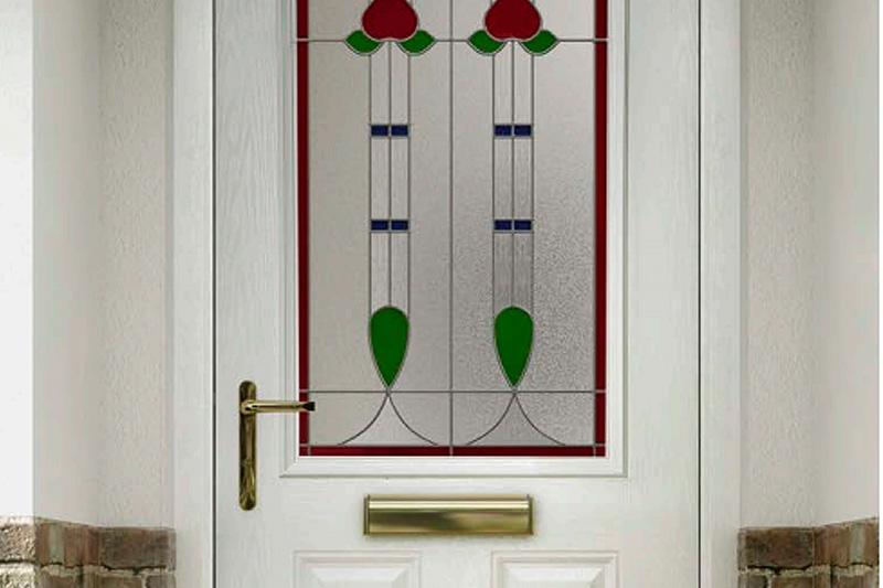 GRP composite doors