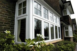 Rustique PVCU Windows